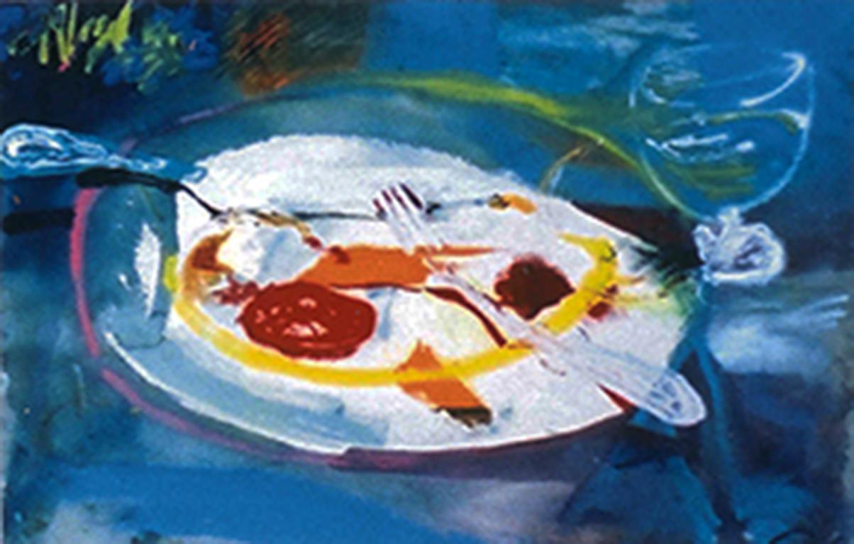 O prato e o cálice