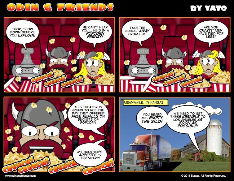 Popcorn Frenzy