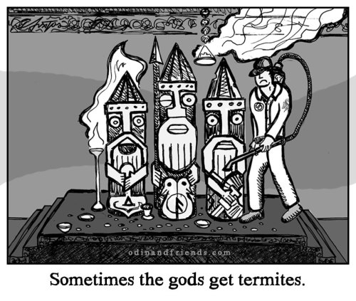 Odin idol cartoon