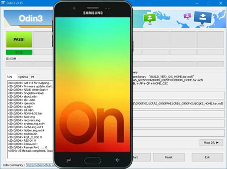 Descargar Odin para Galaxy On7 Prime