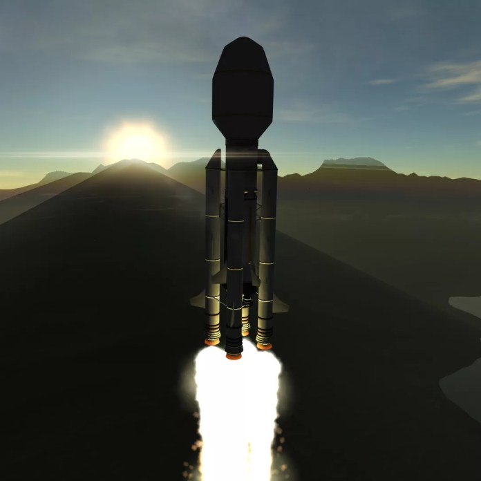 Borrum I launch