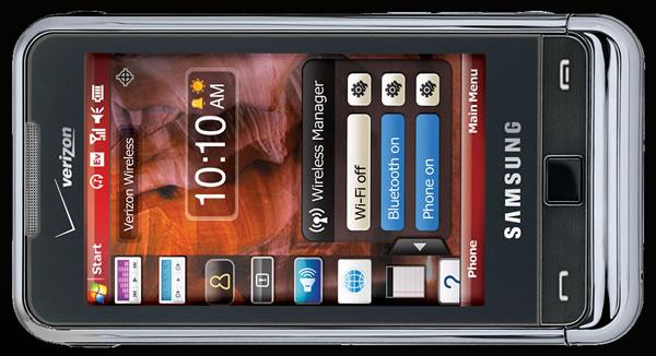Samsung Omnia SCH-i910 Skin for MyMobiler