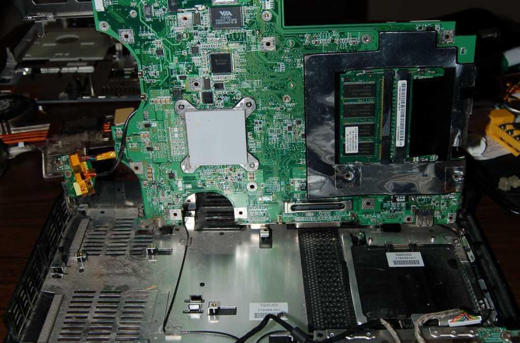 Disassembling an HP Pavillion ZE5500