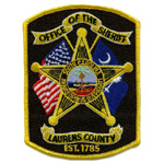 Laurens County Sheriff's Office, South Carolina