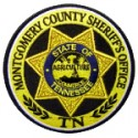Montgomery County Sheriff's Office, Tennessee