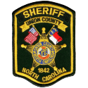 Union County Sheriff's Office, North Carolina