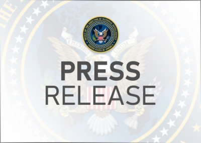 DNI Haines Welcomes New Assistant DNI for Strategic Communications Timothy Barrett