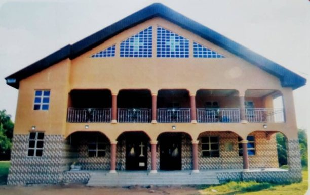 The new church dedicated by Bishop Ezeofor