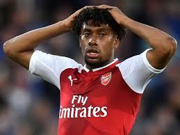 Arsenal Nigerian Midfielder, Alex Iwobi