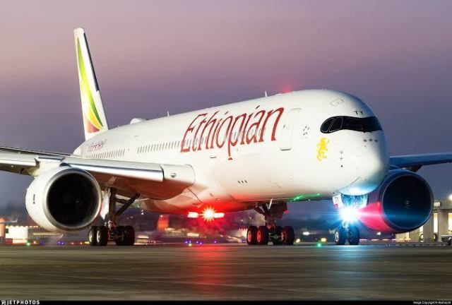Ethiopian Airlines flight