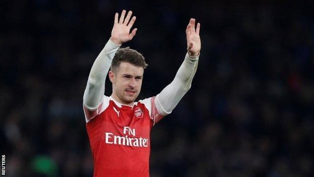 Aaron Ramsey is joining Napoli's Serie A rivals Juventus on a free transfer at the end of the season , Europa