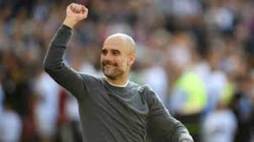 Manchester City manager Pep Guardiola has been named Premier League Manager of the Season