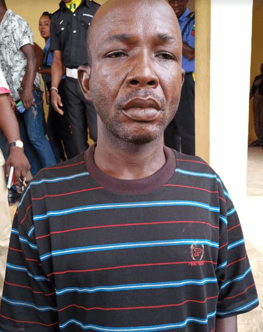 The Suspected Arsonist, Mr Deji Adenuga
