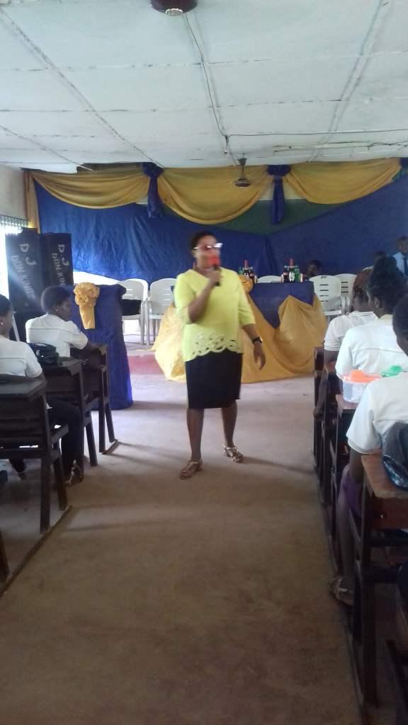EMPSAN Staff adviser Mrs. Nonye Nwankwo