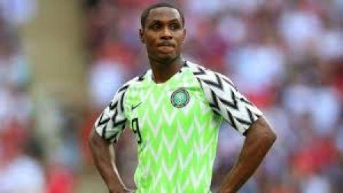 Super Eagles striker Odion Ighalo