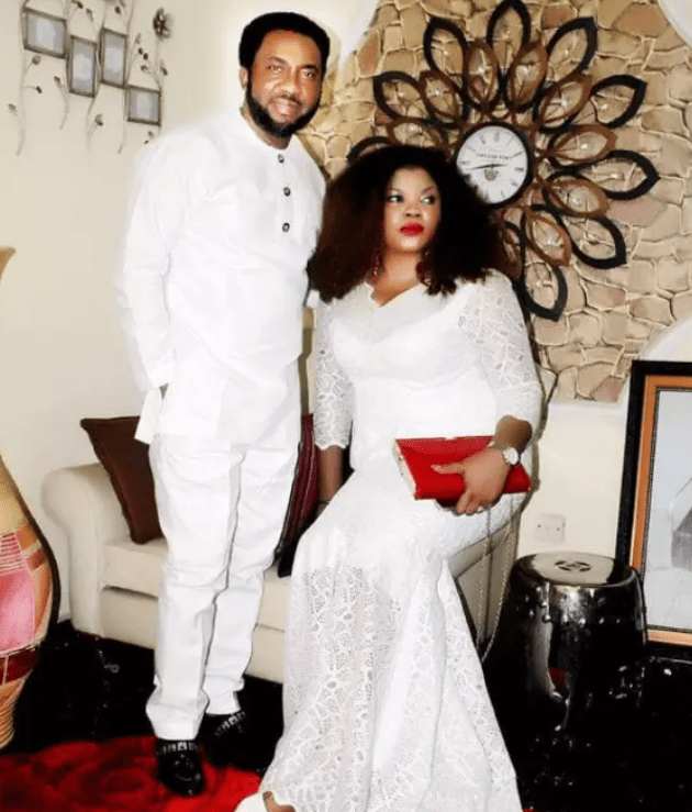 Nnamdi Ezeigbo and his lovely wife