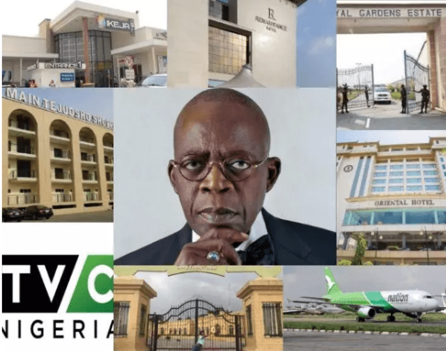 The 13 Companies Owned By Bola Ahmed Tinubu The Jagaban of Lagos.