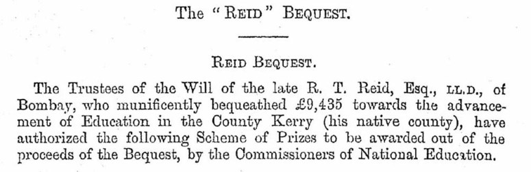 Reid Bequest crop