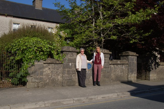 breda brooks outside RIC barracks 24 May 2016 with Bernie Lordan (4)