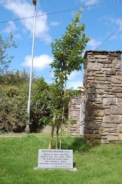 17 Memorial to the Bishop of Ross at Carrigadrohid He 'preferred death rather than request a Gaelic surrender to Cromwell's forces'