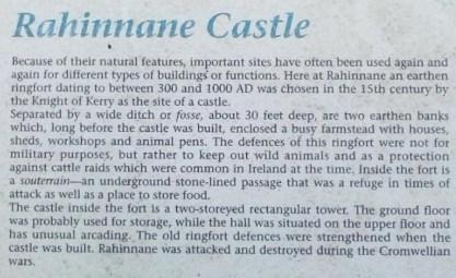 4a Rahinnane Castle