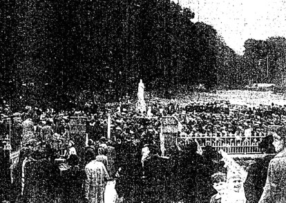 An Speir Bhean Unveiled on Lady's Day 15 August 1940