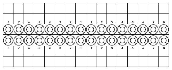 odontograma adulto, dental chart