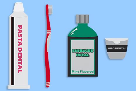 aditamentos para higiene bucal