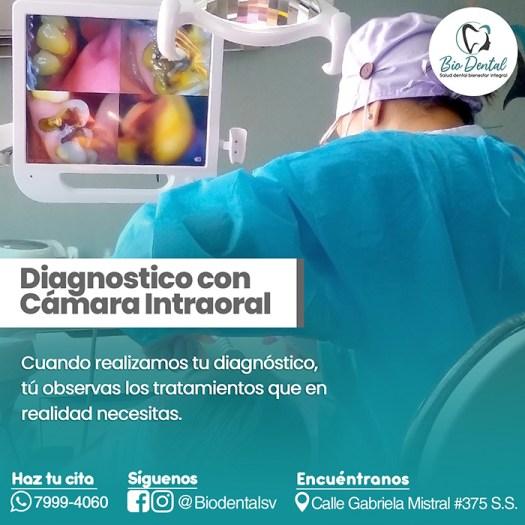 Camara intraoral Biodental