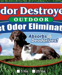 Odor Destroyer Dry - Product Label (front)