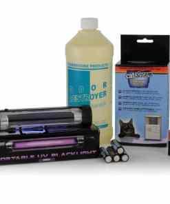Odor Destroyer, Blacklight, CatScram - Value pack