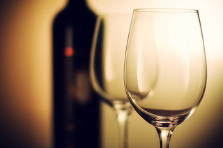 Sklenice a víno