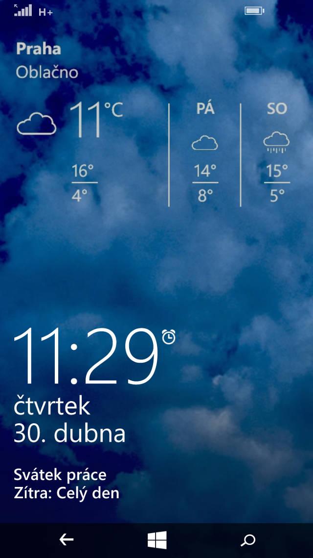 Jak ve Windows Phone udělat snímek obrazovky?