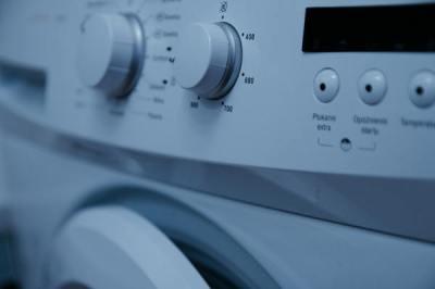 Detail ovládání pračky