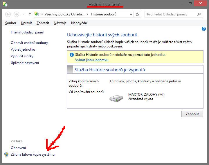 Jak zálohovat Windows 10 a 8.1?