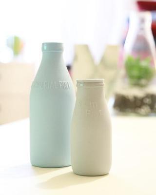 Mléko v láhvi