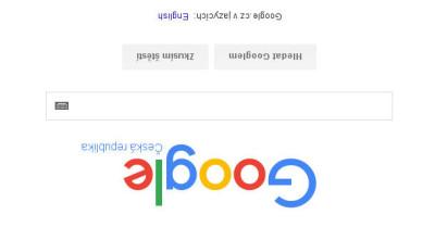 Google vzhůru nohama