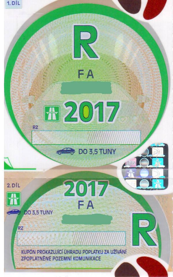 Dálniční známky na rok 2017 – kolik stojí a kde je koupit?
