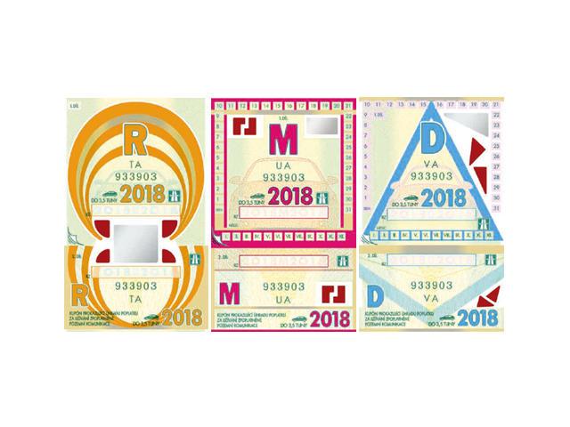 Dálniční známky na rok 2018 – kolik stojí a kde je koupit?