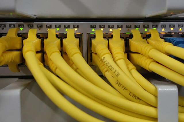 switch a síťové kabely
