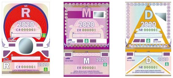 Dálniční známky na rok 2020 – kolik stojí a kde je koupit?