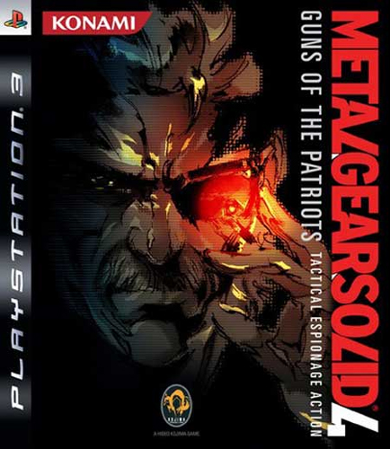 Metal Gear Solid 4 Pal Cover