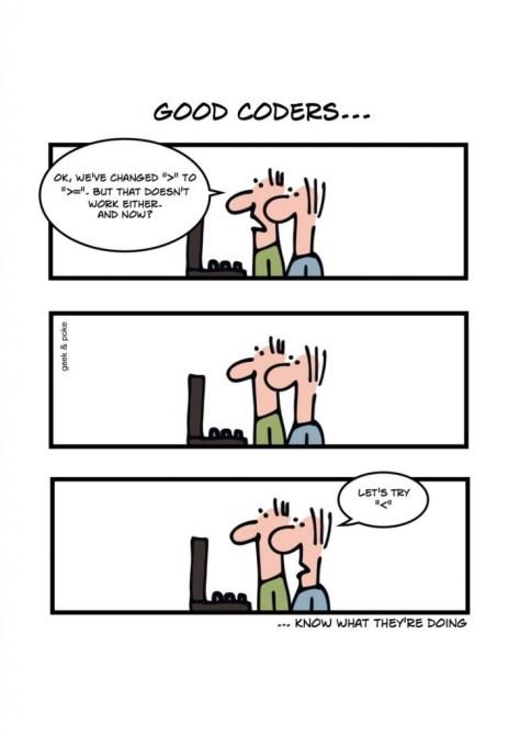 good coders
