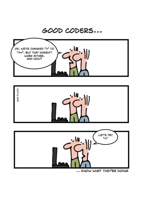 good coders