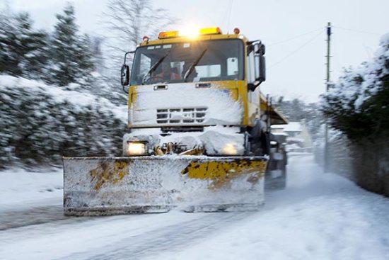 Čišćenje snega zimska služba