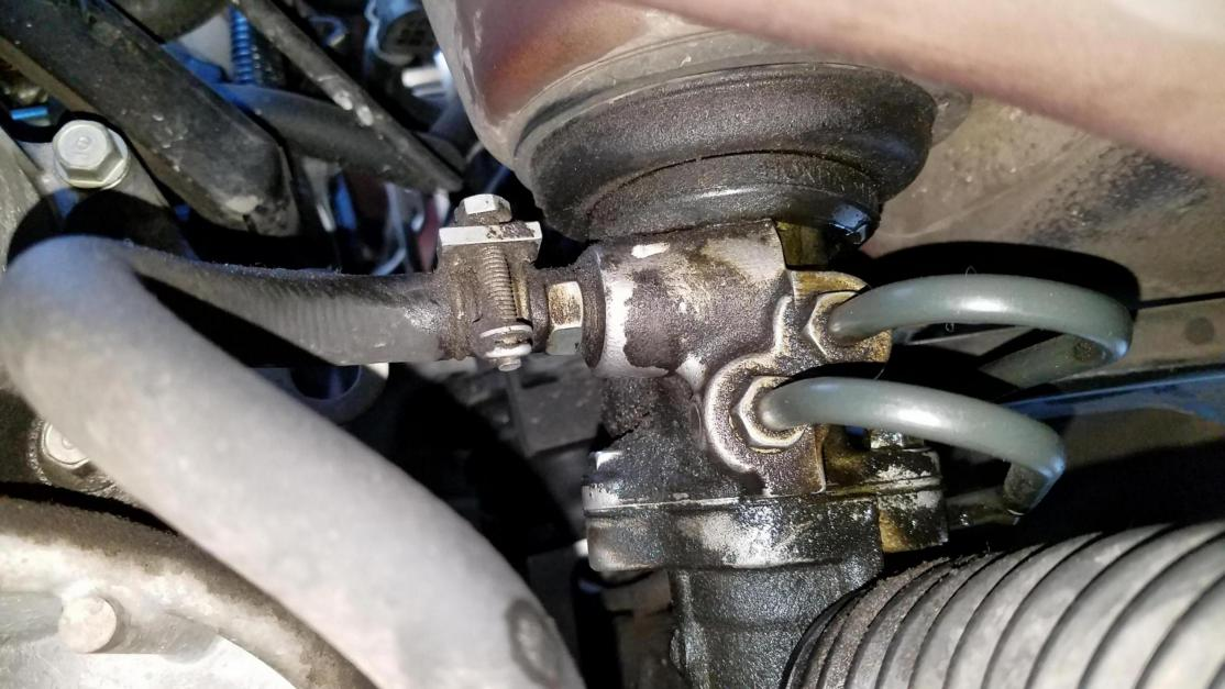 advice on replacing the rack and pinion