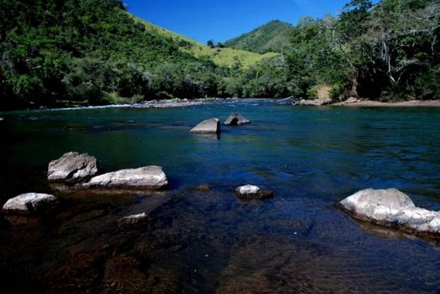 Rio Ribeira de Iguape, que seria atingido pela construção da hidrelétrica de Tijuco Alto. Foto: Povos do Ribeira/Flickr