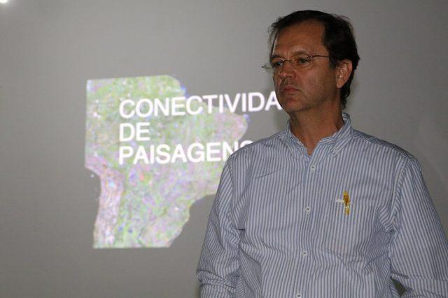O diretor do Departamento de Áreas Protegidas do Ministério do Meio Ambiente, Warwick Manfrinato. Foto: Duda Menegassi.