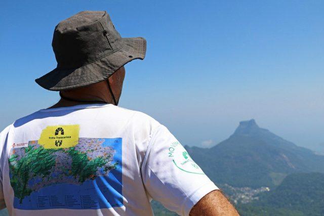 Do Pico da Tijuca é possível ter uma vista de cima do Rio. Foto: Duda Menegassi.