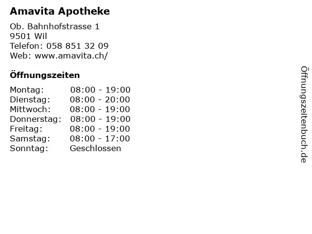 Standorte Und Offnungszeiten